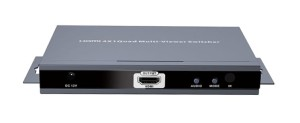 Kontroler HDMI Quad Screen Multiviewer Switch - LKV401-MS