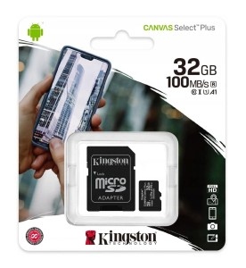 Karta pamięci microSDHC Canvas Select Plus 32GB - Kingston