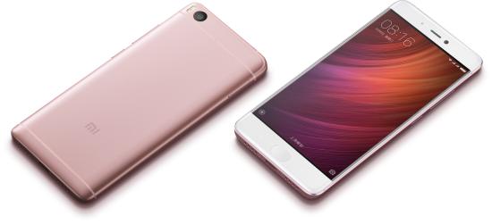 Telefon Xiaomi Mi5S - 64GB - złota róża