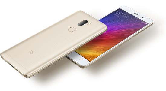 Telefon Xiaomi Mi5S Plus - 128GB - złoty