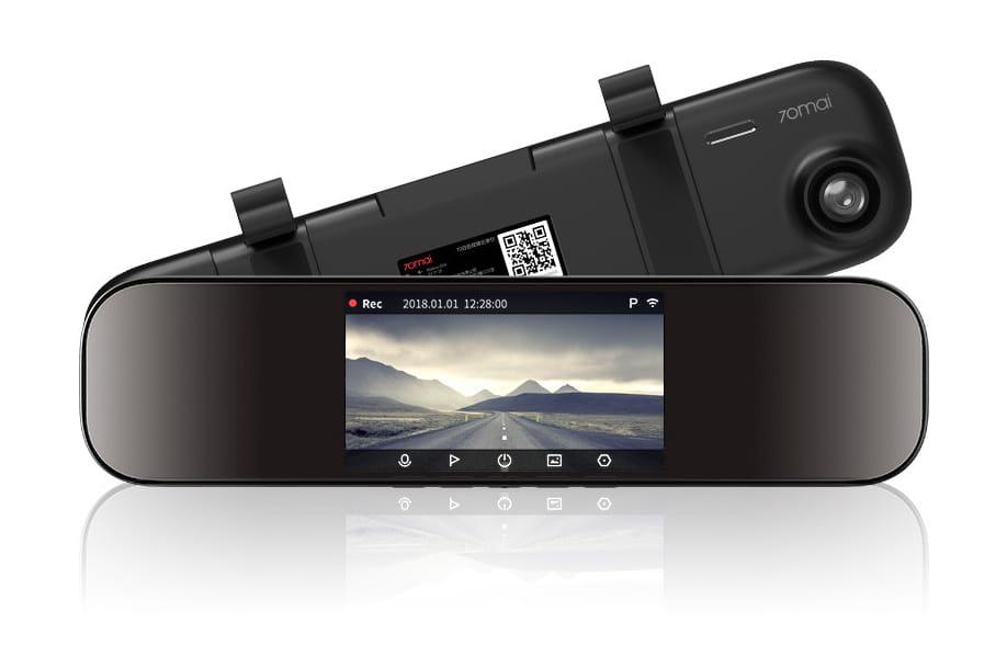 Kamera Samochodowa Rearview Mirror Dash Cam Midrive D04 70mai Aze Tech